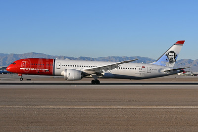 Norwegian.com (Norwegian Air UK) Boeing 787-9 Dreamliner G-CKKL (msn 63311) LAS (Ken Petersen). Image: 945514.