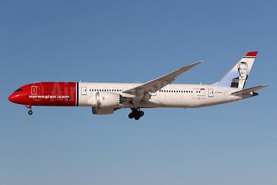 Norwegian.com (Norwegian Air UK) Boeing 787-9 Dreamliner G-CIXO (msn 62082) (Victor Borge, Danish Pianist and Humorist) LAS (James Helbock). Image: 935758.
