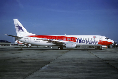 Novair International Airways (UK) Boeing 737-46B G-BOPK (msn 24124) LGW (Christian Volpati Collection). Image: 941587.
