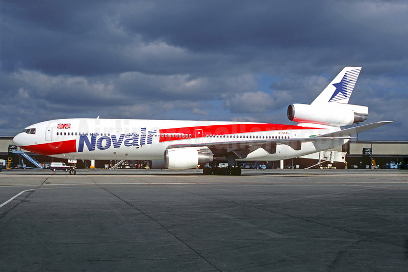 Novair International Airways (UK) McDonnell Douglas DC-10-10 G-GCAL (msn 46501) LGW (Christian Volpati Collection). Image: 930787.