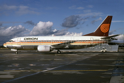 Orion Airways (2nd) Boeing 737-3T5 G-BLKD (msn 23062) (Rob Rindt Collection). Image: 925096.