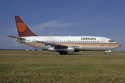 Orion Airways (2nd) Boeing 737-2T5 G-BHVH (msn 22396) (Rob Rindt Collection). Image: 925094.