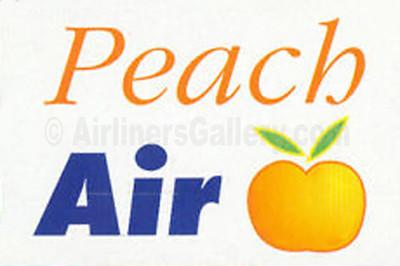 1. Peach Air logo