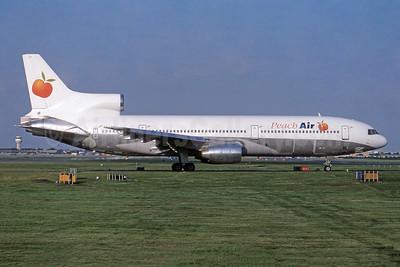 Peach Air (UK) (Air Atlanta Icelandic) Lockheed L-1011-385-1 TriStar 1 TF-ABH (msn 1054) LGW (SPA). Image: 954593.