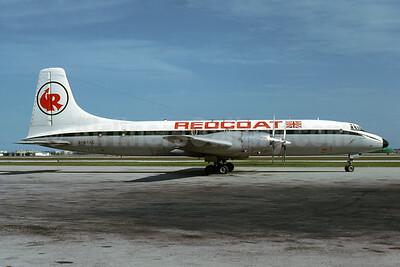Crashed on takeoff at Boston February 16, 1980, 7 killed