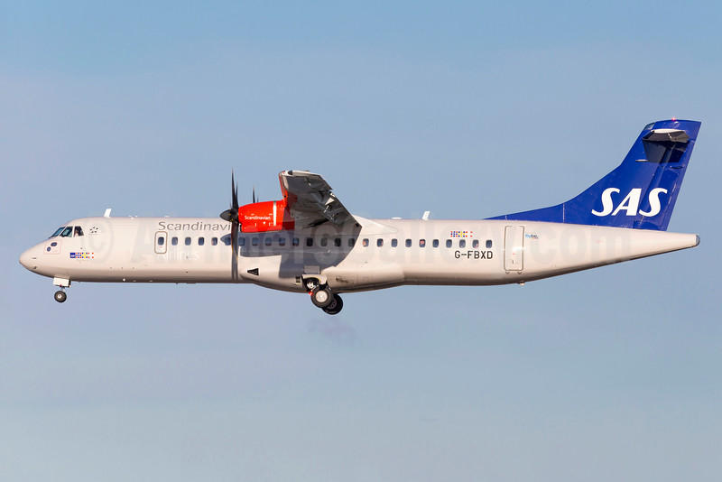 Scandinavian Airlines-SAS (Flybe) ATR 72-212A (ATR 72-600) G-FBXD (msn 1315) ARN (Stefan Sjogren). Image: 932516.