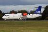 Scandinavian Airlines-SAS (Flybe) ATR 72-212A (ATR 72-600) G-FBXB (msn 1277) SEN (Keith Burton). Image: 929702.