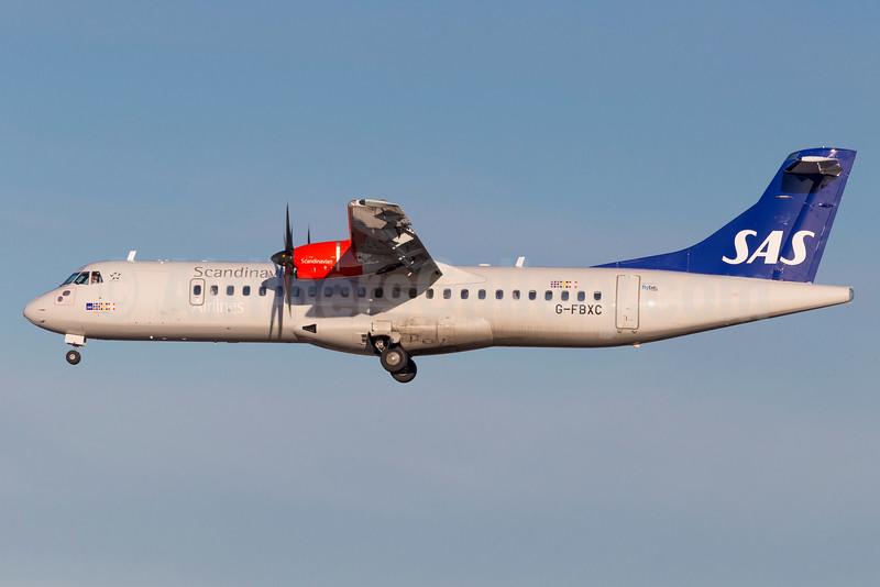 Scandinavian Airlines-SAS (Flybe) ATR 72-212A (ATR 72-600) G-FBXC (msn 1300) ARN (Stefan Sjogren). Image: 932515.