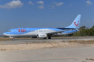 TUI Airways (UK) Boeing 737-8K5 SSWL G-FDZZ (msn 37262) PMI (Ton Jochems). Image: 950785.