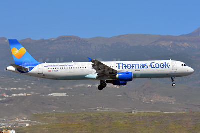 Thomas Cook Airlines (UK) (Thomas Cook.com) Airbus A321-211 G-TCDW (msn 1921) TFS (Paul Bannwarth). Image: 927004.