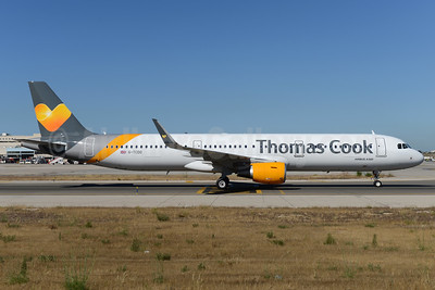 Thomas Cook Airlines (UK) Airbus A321-211 WL G-TCDO (msn 7055) PMI (Ton Jochems). Image: 937660.