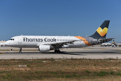 Thomas Cook Airlines (UK) (SmartLynx Airlines Latvia) Airbus A320-214 LY-LCT (msn 2233) PMI (Ton Jochems). Image: 945606.