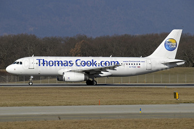 Thomas Cook Airlines (UK) (Thomas Cook.com) Airbus A320-232 G-TCAC (msn 1411) (white) GVA (Paul Denton). Image: 906353.