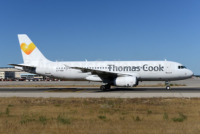 Thomas Cook Airlines (UK) (Avion Express) Airbus A320-233 LY-VEN (msn 1626) PMI (Ton Jochems). Image: 923711.