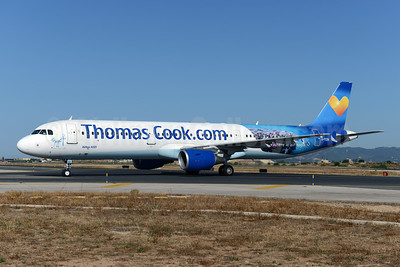 Thomas Cooks' Egypt promotional livery