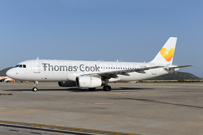 Thomas Cook Airlines (UK) (Avion Express) Airbus A320-232 LY-VEL (msn 1998) IBZ (Ton Jochems). Image: 938897.
