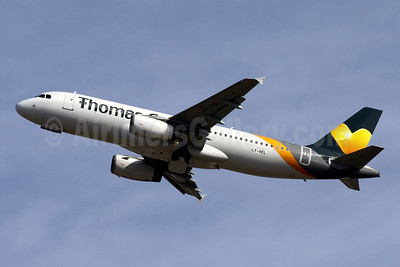 Thomas Cook Airlines (UK) (Avion Express) Airbus A320-232 LY-VEL (msn 1998) PMI (Javier Rodriguez). Image: 941778.