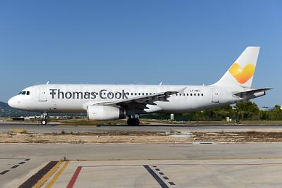 Thomas Cook Airlines (UK) (Avion Express) Airbus A320-233 LY-VEI (msn 902) PMI (Ton Jochems). Image: 938356.