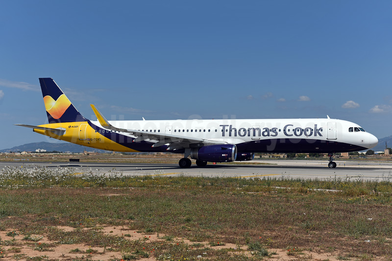 Thomas Cook Airlines (UK) Airbus A321-211 WL G-TCVD (msn 6126) (Monarch colors) PMI (Ton Jochems). Image: 946923.