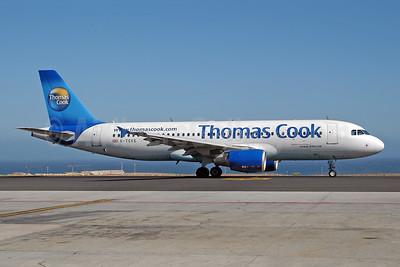 Thomas Cook Airlines (UK) Airbus A320-214 G-TCKE (msn 1968) TFS (Ton Jochems). Image: 953469.