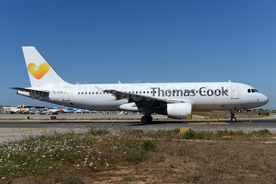 Thomas Cook Airlines (UK) (SmartLynx Airlines Latvia) Airbus A320-214 LY-LCK (msn 936) PMI (Ton Jochems). Image: 937663.