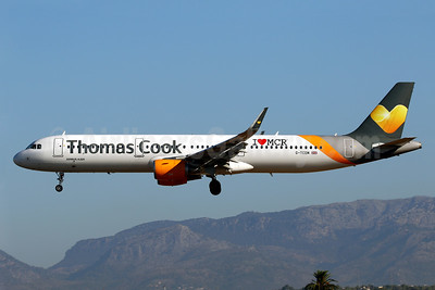 """Thomas Cook Airlines supports the """"I Love MCR"""" campaign with a new logo"""