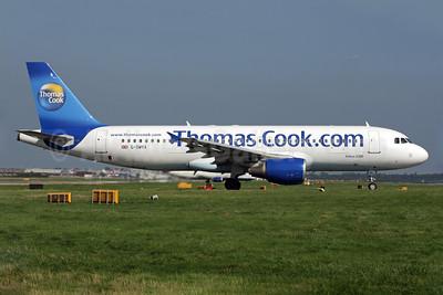Thomas Cook Airlines (UK) (Thomas Cook.com) Airbus A320-214 G-OMYA (msn 716) LGW (Antony J. Best). Image: 902226.
