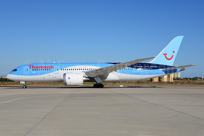 Thomson Airways Boeing 787-8 Dreamliner G-TUIB (msn 34423) AYT (Ton Jochems). Image: 920754.