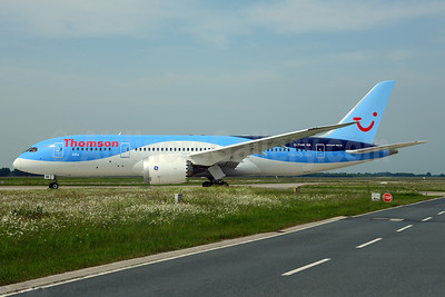 Thomson Airways Boeing 787-8 Dreamliner G-TUIB (msn 34423) HAJ (Ton Jochems). Image: 912550.