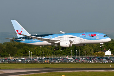Thomson Airways Boeing 787-8 Dreamliner G-TUIB (msn 34423) MAN (Rob Skinkis). Image: 912601.