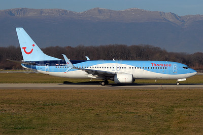 Thomson Airways Boeing 737-8K5 SSWL G-FDZA (msn 35134) GVA (Paul Denton). Image: 934306.
