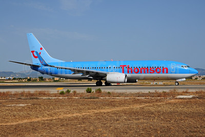 Thomson Airways Boeing 737-8K5 WL G-FDZS (msn 35147) PMI (Ton Jochems). Image: 952865.