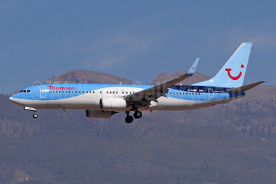 Thomson Airways Boeing 737-8K5 WL G-TAWF (msn 37244) TFS (Paul Bannwarth). Image: 922387.