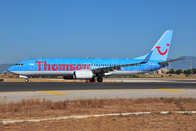 Thomsonfly (Thomsonfly.com) Boeing 737-8K5 WL G-FDZG (msn 35139) PMI (Ton Jochems). Image: 953521.