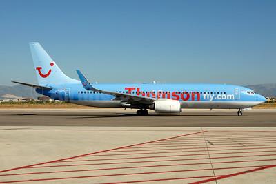 Thomsonfly (Thomsonfly.com) Boeing 737-8K5 WL G-FDZA (msn 35134) PMI (Ton Jochems). Image: 953518.