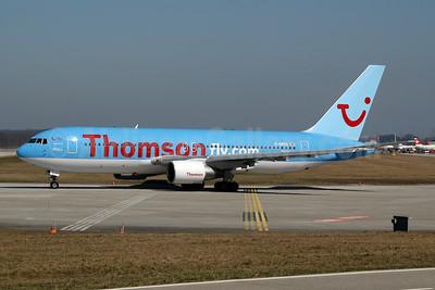 Thomsonfly (Thomsonfly.com) Boeing 767-204 ER G-BRIG (msn 24757) GVA (Ton Jochems). Image: 953527.