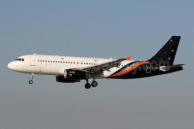 Titan Airways Airbus A320-233 G-POWK (msn 4701) ZRH (Andi Hiltl). Image: 945160.