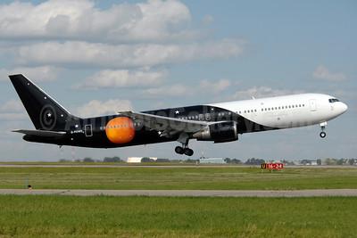 Titan Airways Boeing 767-36N ER G-POWD (msn 30847) YYC (Chris Sands). Image: 938373.
