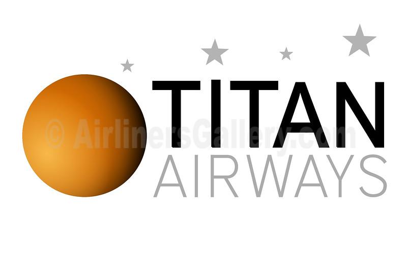 1. Titan Airways logo