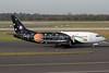 Titan Airways Boeing 737-33A G-ZAPZ (msn 25401) (EMA Belfast 2011 - MTV Mobile - GIF God) DUS (Michael Stappen). Image: 913786.