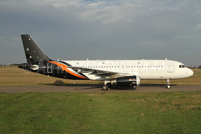 Titan Airways Airbus A320-233 G-POWK (msn 4701) GCI (Nick Dean). Image: 945161.