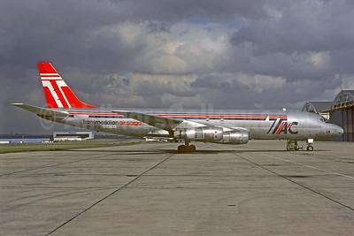 Transmeridian Air Cargo - TAC McDonnell Douglas DC-8F-4 Jet Trader N5879X (msn 45879) LBG (Christian Volpati). Image: 939587.