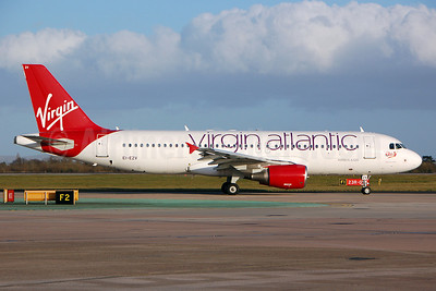 Virgin Atlantic Airways (Aer Lingus) Airbus A320-214 EI-EZV (msn 2001) MAN (Nik French). Image: 911861.