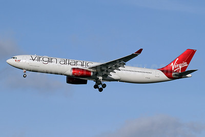 Virgin Atlantic Airways Airbus A330-343 G-VLUV (msn 1206) LHR (Keith Burton). Image: 941040.