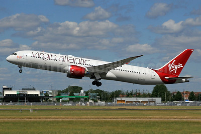 Virgin Atlantic Airways Boeing 787-9 Dreamliner G-VFAN (msn 37977) LHR (SPA). Image: 936547.