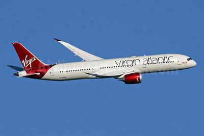 Virgin Atlantic Airways Boeing 787-9 Dreamliner G-VOOH (msn 37968) LHR (SPA). Image: 942034.