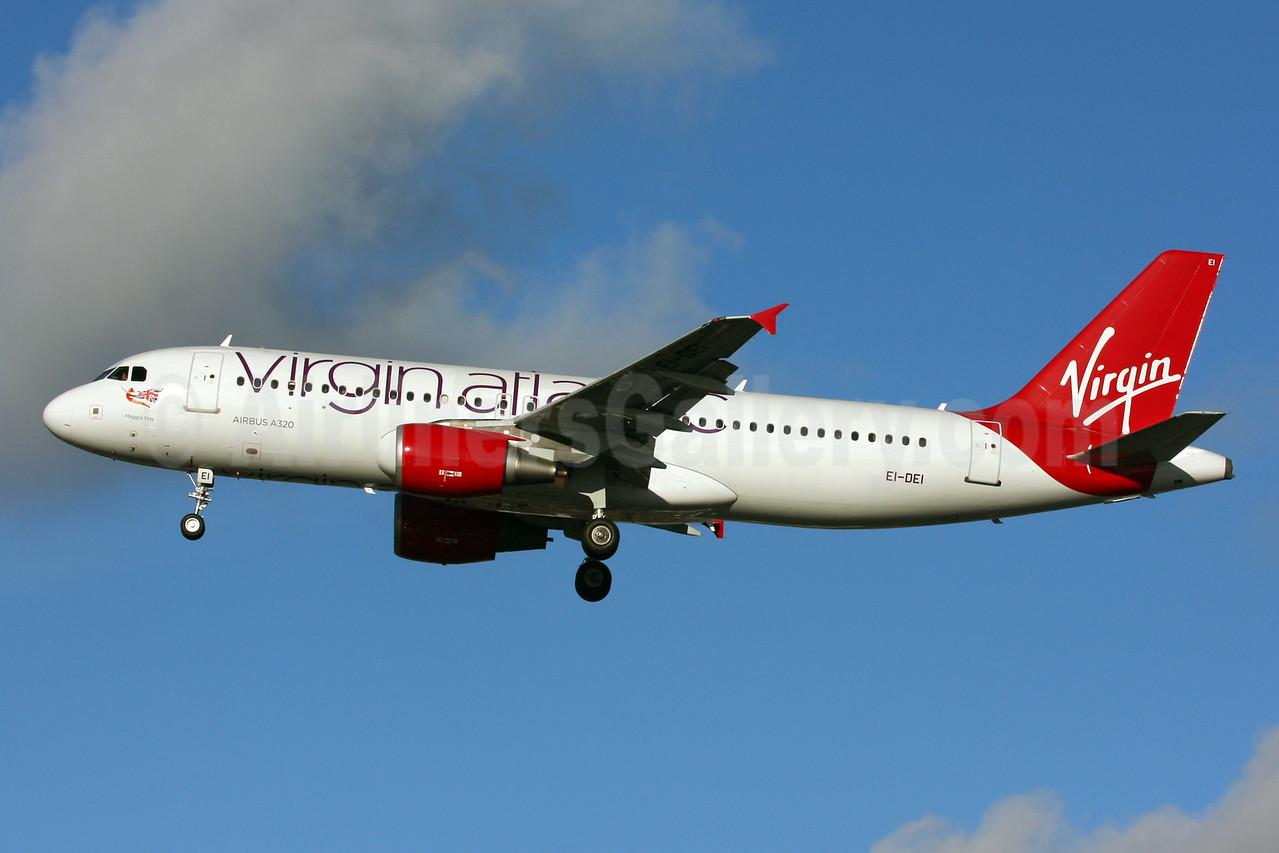 Virgin Atlantic Airways (Aer Lingus) Airbus A320-214 EI-DEI (msn 2374) LHR (SPA). Image: 924792.