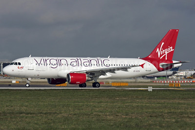 Virgin Atlantic Airways (Aer Lingus) Airbus A320-214 EI-EZV (msn 2001) LHR (Antony J. Best). Image: 911761.