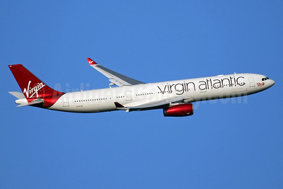 Virgin Atlantic Airways Airbus A330-343 G-VLUV (msn 1206) LHR (SPA). Image: 941041.