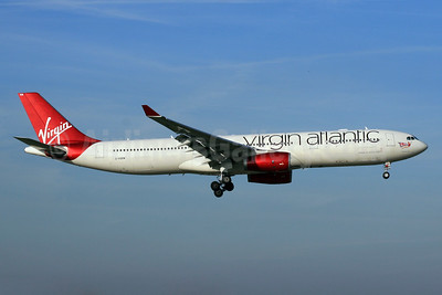 Virgin Atlantic Airways Airbus A330-343 G-VGEM (msn 1215) LHR (SPA). Image: 930200.